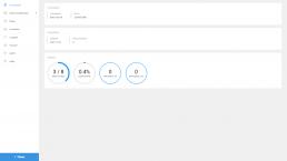 Inställningar hemskärm i webbaserad venturi