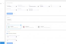 Inställningar användare i webbaserad venturi